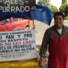 Protesta Fray Papilla vs altos cobros de CFE