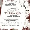 Invitan a la exposición pictórica 'Torbellino Rojo'