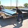 Entregan materiales de construcci�n a bajo costo