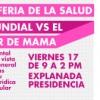 Conmemorarán el día internacional vs cáncer de mama