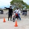 Imparte la fiscalía taller de capacitación a motociclistas