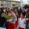Ofrece Paty Berjes posada a ni�os de la escuela Juan Rulfo