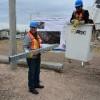 Inicia obra de electrificaci�n en La Campesina