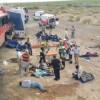 Suman 10 muertos y 27 heridos en accidente carretero