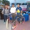 Recibe donativo Delicias en Bicicleta AC por parte de Parqu�metros