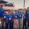 Participan niños atletas de Satevó en evento internacional