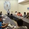 Se reúne regidor Israel Obando con Colegio de Arquitectos Civiles de Delicias