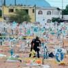 Lo ejecutan entre las tumbas de un panteón en Juárez