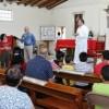 Entrega apoyo Miguel La Torre a la comunidad de la parroquia de San Juan Evangelista