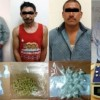 Detienen a cuatro por delitos contra la salud