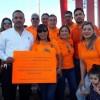 Ejemplar: Maestros en Ciudad Juárez sin descuidar trabajo salen a manifestarse a las calles