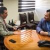Se reúnen Arturo Fuentes y el diputado Jesús Valenciano