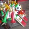 Llegan a Delicias los vendedores de artículos patrios