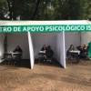 instalan centros de apoyo psicológico en zonas afectadas