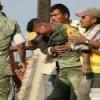 Llora soldado tras encontrar cuerpos sin vida