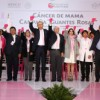 """Inicia campaña """"Guantes Rosas"""" contra el cáncer de mama"""