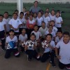 Entregan equipo deportivo a estudiantes