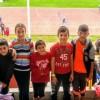 Ganan 4 medallas en el V Encuentro Potosino de Atletismo, niños de Satevó