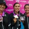Se quedan mexicanas con la plata en el Mundial de Tiro con Arco