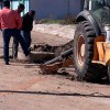 Explota red de drenaje en Camargo; hay daños en viviendas