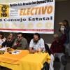 Realizan Consejo Estatal Electivo del PRD