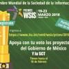 Invitan a votar por proyectos en los premios WISIS 2018